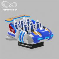Wholesale 6 Seats VR Motion Simulator Virtual Reality Cinema Entertainment Simulation Rides from china suppliers