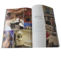 Buy cheap Full Color A4 Brochure Printing Paper Back Cover Guide Book Foil Stamping from wholesalers