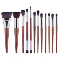 Wholesale Makeup brush set, 10 Brushes Cosmetic Set,Wood Handle Brush,Synthesis Hair from china suppliers