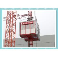 Buy cheap Passenger / Construction Materials Building Hoist Elevator With Frequency Control System from wholesalers