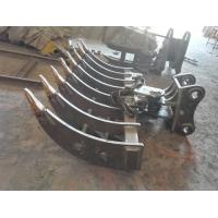 Buy cheap Heavy Duty Mini Digger Land Rake Customized Size For Smashing Hard Substances from wholesalers