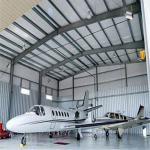 Buy cheap pre-made metal steel warehouse prefabricated airplane steel hangar large buildings from wholesalers