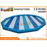 China Hot welding 0.9mm PVC Tarpaulin Inflatable Pool Slides For Inground Pools on sale