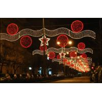 Wholesale outdoor commercial christmas light happy new year from china suppliers