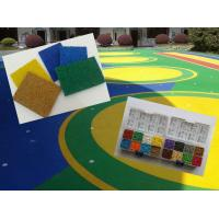 China Synthetic Recycled EPDM Colored Rubber Granules for Playground Mulch on sale