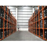 Buy cheap stackable and foldable tyre warehouse rack from wholesalers