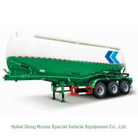 Buy cheap 3 Axle V Shape Steel Bulk Cement Tanker Trailer With 40000 Liters Capacity from wholesalers