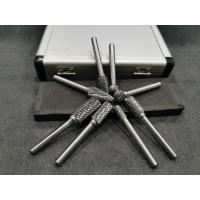 Buy cheap HIGH SPEED CARBIDE DIE GRINDER BIT SET / SOLID CARBIDE BURR SET EASY TO USE from wholesalers