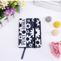 Buy cheap Color diary agenda notebook with elastic strap and back pocket from wholesalers