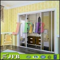 Buy cheap laminated plywood design fabric closet walk in wardorbes from wholesalers