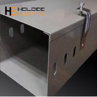 Buy cheap CE Certificated GalvanizedCableTray/CableTrunking Size/GICableTrunking from wholesalers
