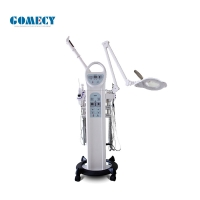 Buy cheap 9 In 1 White Multifunctional Beauty Equipment Steamer Ultrasonic Deep Cleansing Skin Care High Frequency from wholesalers