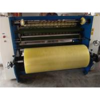 Auto PVC / PET Adhesive Tape Slitting Machine Paper Roll Cutter Slitter Manufactures