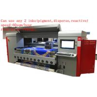 1.8m Dx5 Digital Textile Printing Machine Disperse / Reactive /  Pigment Ink Manufactures