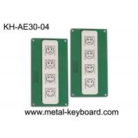 Buy cheap 4 Keys Stainless Steel Metal Keypad for Customer Service Evaluation Device from wholesalers