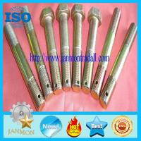 Buy cheap Special Hex Head Bolt With Hole,Zinc galvanized hex bolt with holes in neck,Zinc plated hex had bolt with holes,hex bolt from wholesalers