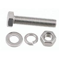 Buy cheap Stainless Steel / Carbon Steel Bolt And Nut Assembly 8.8 10.9 Grade M16 M24 M28 M30 from wholesalers