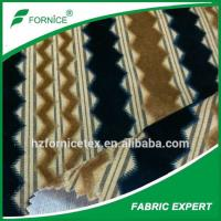 Buy cheap China factory 100% Polyester Yarn Dyed Velvet Fabric from wholesalers