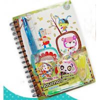 diary book with gel pen
