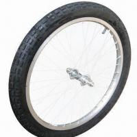 Buy cheap 20-inch Bicycle Wheel with Alloy/Steel Rim, Used for Medical Carts from wholesalers