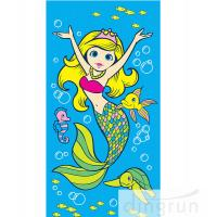 Buy cheap Beautiful Promotional Products Beach Towels Cartoon Design Printing For Children from wholesalers