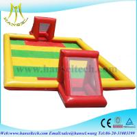 Buy cheap Hansel Inflatable football field inflatable soccer field from wholesalers