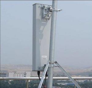 China 14.5dbi Gain GSM High Density Flat Panel Antenna Vertical 15° / Horizontal 65° on sale