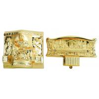 Wholesale Christ Type Casket Hardware Kit , PP / ABS Coffin Fittings Suppliers With Steel Bars from china suppliers