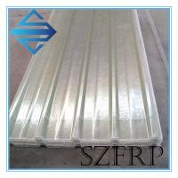 Buy cheap Clear Corrugated Plastic Roofing Sheets Plastic from wholesalers