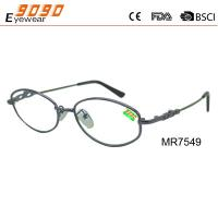Buy cheap New design high quality fashionable reading glasses ,made of stainless steel with purple color from wholesalers