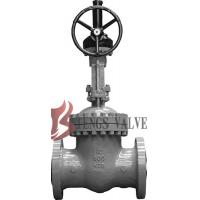 Wholesale API Cast Steel Fully Open Gate Valve Metal Seat Z40H For Oil / Gas Industry from china suppliers