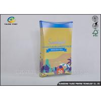 Wholesale Bright Coloured Cosmetic Packaging Boxes For Cosmetic / Mask Product from china suppliers