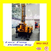 Buy cheap China Multi-function MGJ-50LZ Crawler Foundation Engineering Earth Auger Drilling Rig from wholesalers