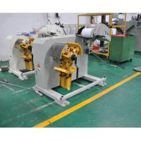 Buy cheap Nc Servo Feeder Straightening Steel Decoiling Machine Power Press For Leveling Metal Strip from wholesalers