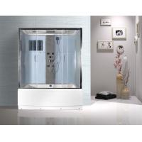 Buy cheap Rectangular Clear Glass Shower Enclosures , Rectangular Shower Stalls Kits from wholesalers