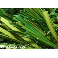 11000 Dtex 50 mm Height S Shape Yarn Apple Green or Field Green Futsal Artificial Grass Manufactures