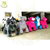 Hanseltech ride on animal unicorn plush animal battery car on wheels Manufactures