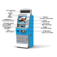 Buy cheap License-based Air Tickets Vending Machine LED Displaying On The Top from wholesalers