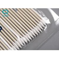 Buy cheap High Absorbency Sterile Cotton Buds , Medical Cotton Swabs For Micro Mechanical Cleaning from wholesalers