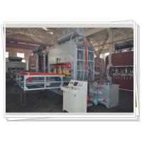 Down Press Double Side Laminate Pressing Machine / Plywood Hot Press Machine Manufactures