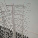 Buy cheap 40kg Capacity Supermarket Display Shelf Customized Rack Multi Layer from wholesalers