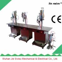 Buy cheap 3 in 3 tables type Aerosol can spray filling machine from wholesalers