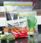 Buy cheap Eco-friendly PE two Track Vacuum Plastic Zipper,PE Hermetic Seal Zipper, Custom Double Seal Plastic Bag /Double Track Pl from wholesalers