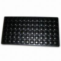 Buy cheap 0.6mm Plastic Seed Tray with One Time Usage, Ideal for Greenhouse, Farm, Garden and Roof from wholesalers