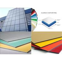 Buy cheap 3mm / 4mm Thickness Aluminum Composite Metal Panels Anti-Static , Fireproof from wholesalers