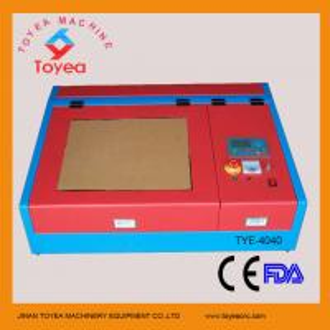 Desktop Mini laser engraver machine with square linear rail TYE-4040