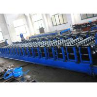 Buy cheap Grain Silo Steel Corrugated Panel Roll Forming Machine For Hydraulic Punching from wholesalers