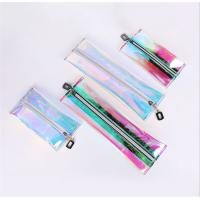 Buy cheap Customized PVC Cosmetic Bag Lightweight Waterproof 100% Handmade Sewing from wholesalers