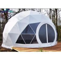 Buy cheap Fireproof Camping Geo Dome Tent Customized Design Exhibition Dome Tent from wholesalers