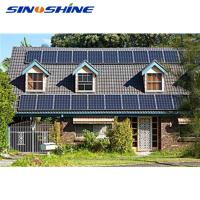 Buy cheap Easy installation 3kw off grid hybrid solar wind power system product
